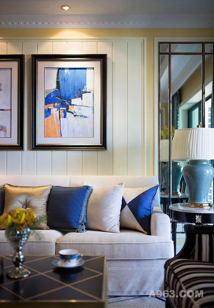 3昆明海伦国际样板房设计|朗昇建筑空间设计