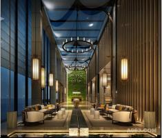 天水 财富阳光酒店-植物墙
