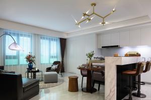 南京华新城100户型样板房软装陈设方案