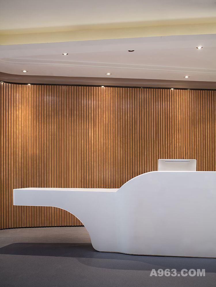 图二:昆明海伦先生办公空间样板房设计 前厅设计2