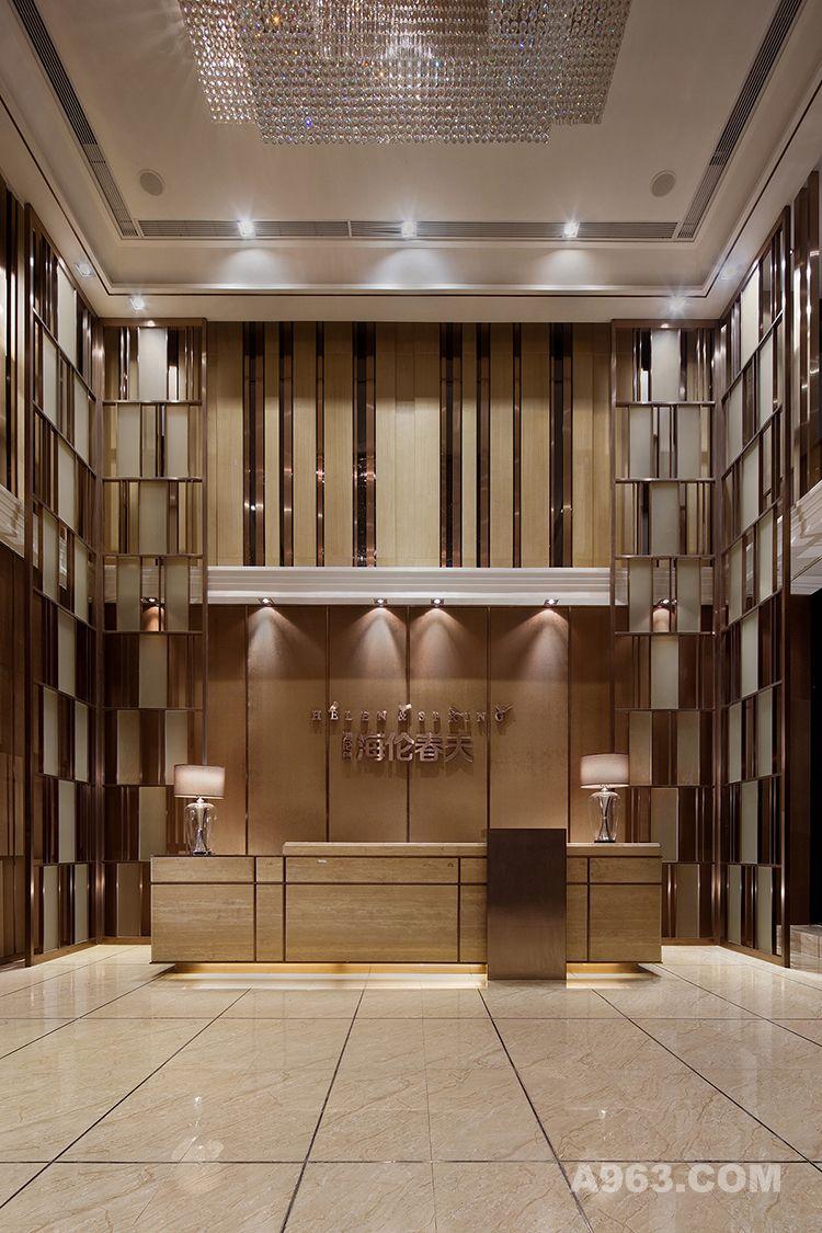 图二:成都海伦春天销售中心设计-大堂