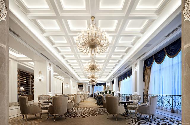 KSL成都中洲中央城邦售楼处设计