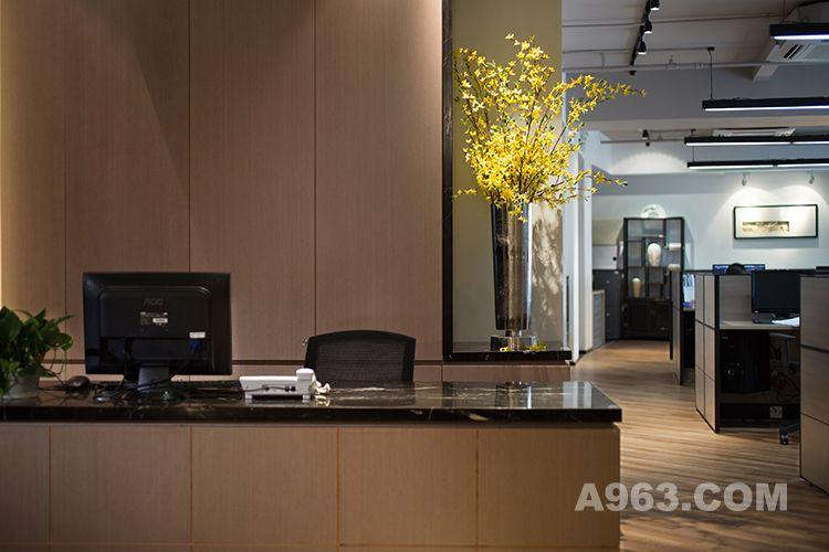图二:朗昇建筑空间办公室设计-前厅2