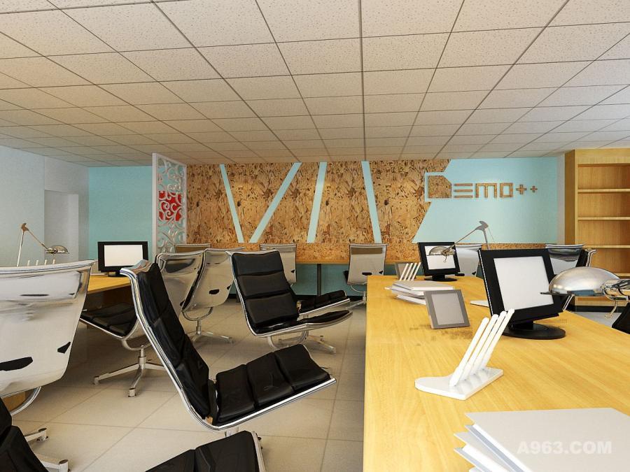 软木装饰可以创意的团队展示区