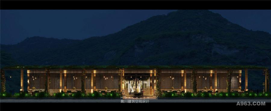 外观设计保留原建筑特点之基础下作文艺风设计处理。