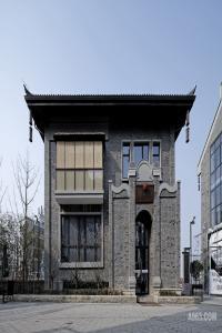 浙江安吉灵峰讲堂设计