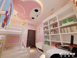 哈尔滨实创装饰打造宝宇天邑澜山126平个性现代三居