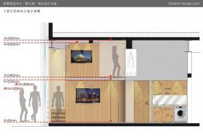 邯郸客运中心公寓设计-LOFT