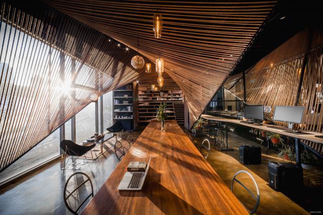 上海创意者之家麻绳设计办公室