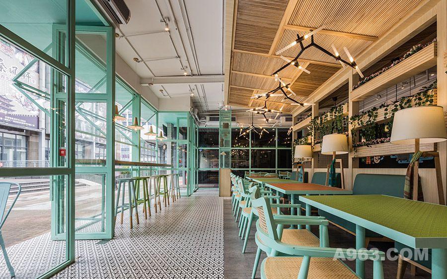 餐厅就餐区