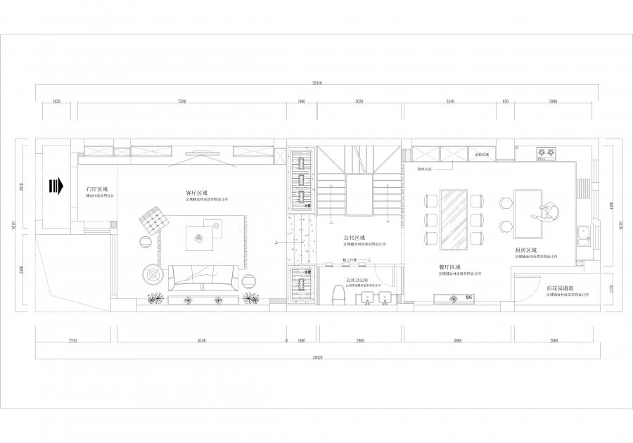 1楼平面布置图