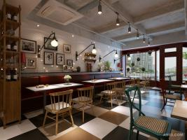 西安西餐厅装修设计
