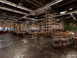 西安西餐厅装修设计-PIZZA MAX