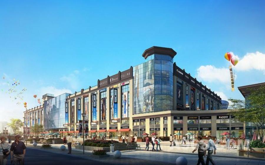 最新城市综合体设计效果图片展示:贵州凯威国际设计方案