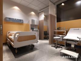 粒米空间现代医院病房装饰设计