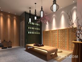 珠海粒米空间茶庄茶室主题空间装饰设计
