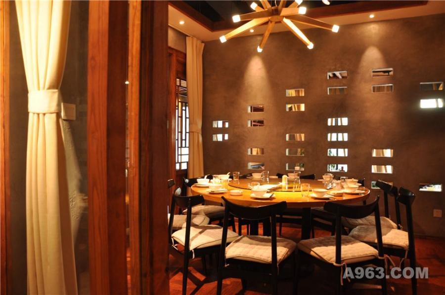 紫荷花主题餐厅设计