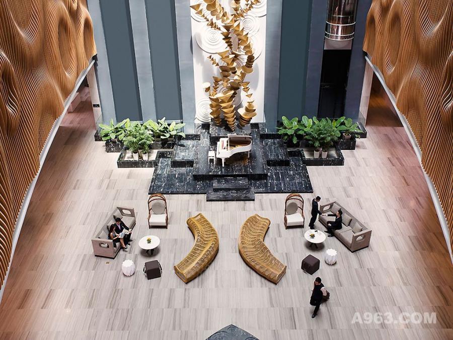 YANG-越南头顿铂尔曼酒店-大堂