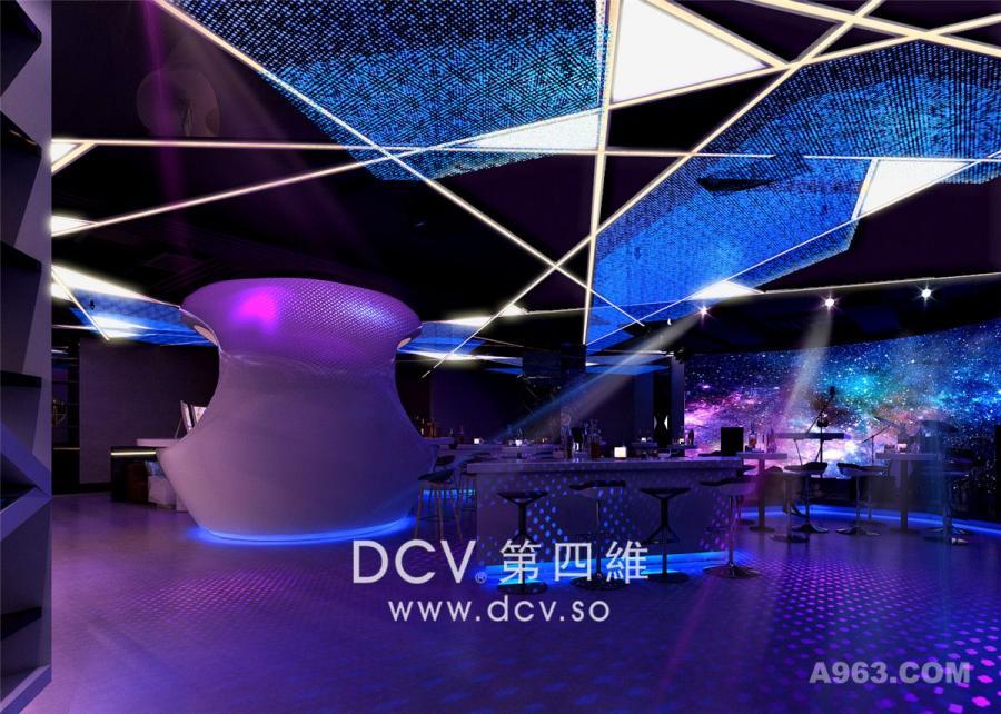 西安最受欢迎的情景KTV设计-安康.COCO梦想秀(火吧)娱乐厅吧