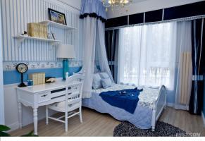 志诚新世界三室二厅129平地中海风格装修