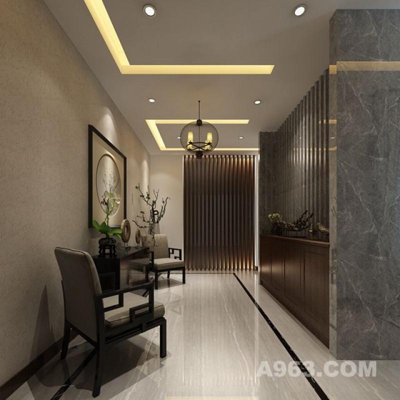 【佘山一品】300平别墅装修设计案例 ▎现代新中式说明图片