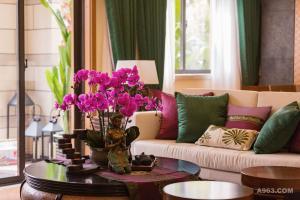 桂林万达文化旅游城东南亚风格样板间