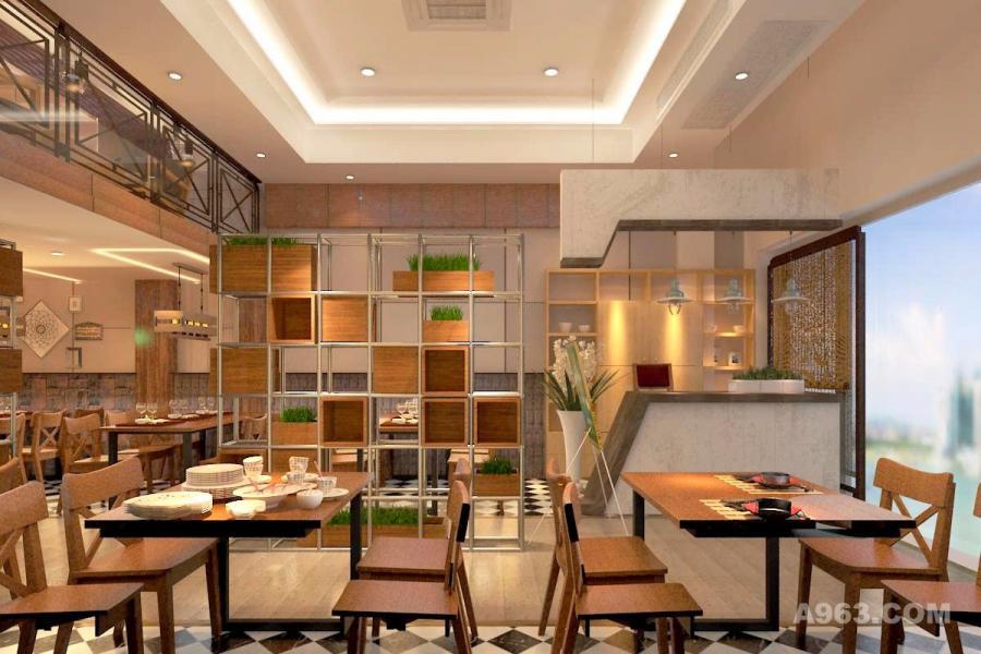 loft-工业风中餐厅-餐饮步骤-孟一涵设计作品uefimbr安装win10具体空间图片