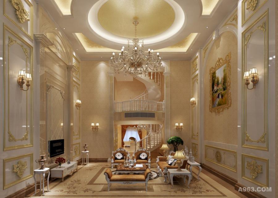 整个陈设注重空间气质的表达。格局以中轴线对称布局,简洁的天花吊顶、定制的欧式吊灯与充满时代感的家私陈设交相辉映,凝聚法国古典浪漫与当代艺美精华,展现文化与艺术的非凡气质。