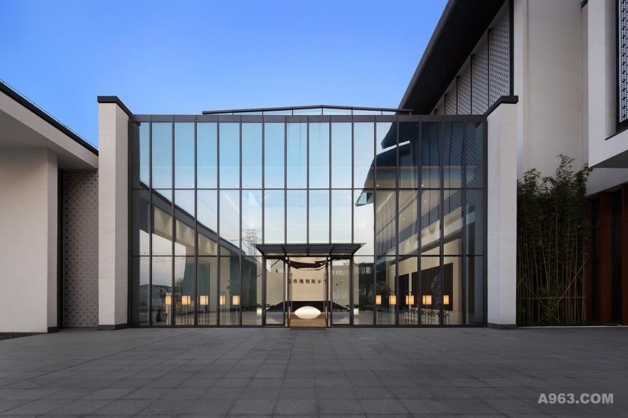 展厅、大堂入口处