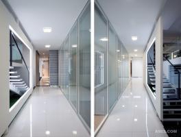 雅轩办公室设计——本至办公设计