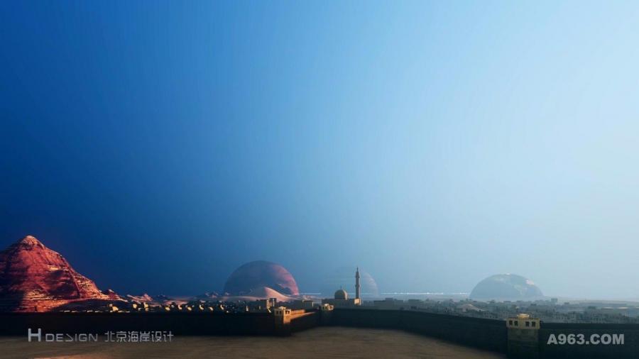北京海岸:中阿军事合作小镇设计方案
