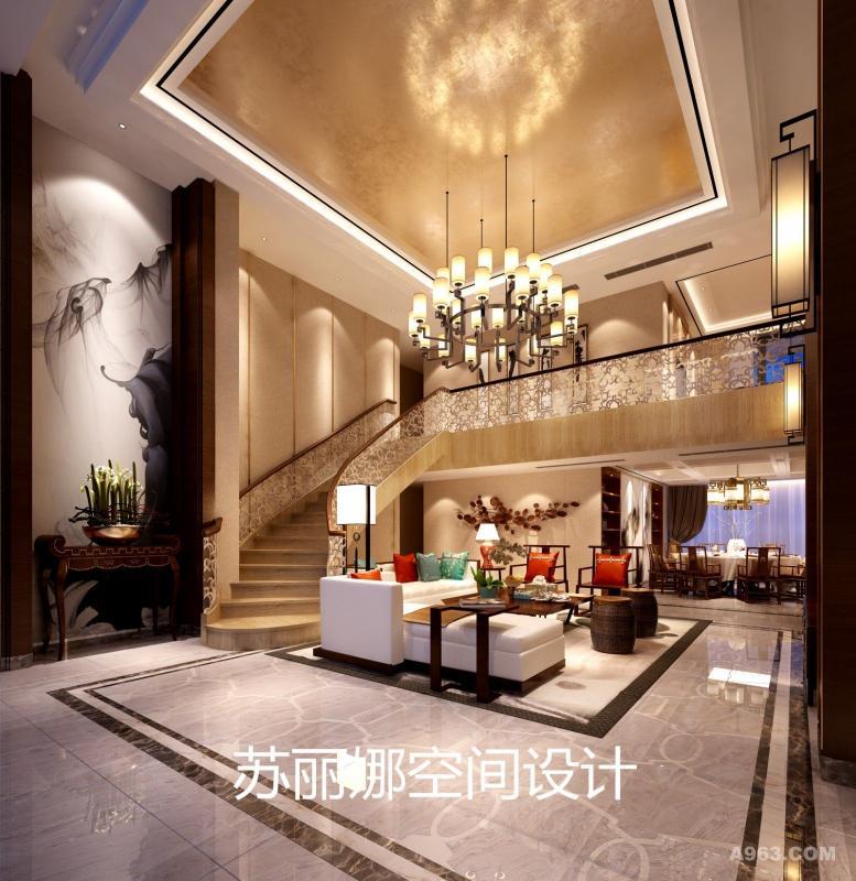 把中国传统的构建形式通过重组提炼  去除繁复的构建形式   精简出另一种特有的民族符号  所体现出来弥漫的东方气质的空间  才是意境美学特有的情怀