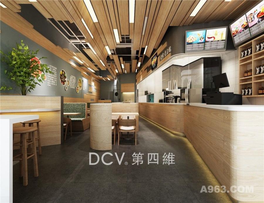 西安最有优势餐厅设计-王妈凉皮现代自然(宝鸡眉县)
