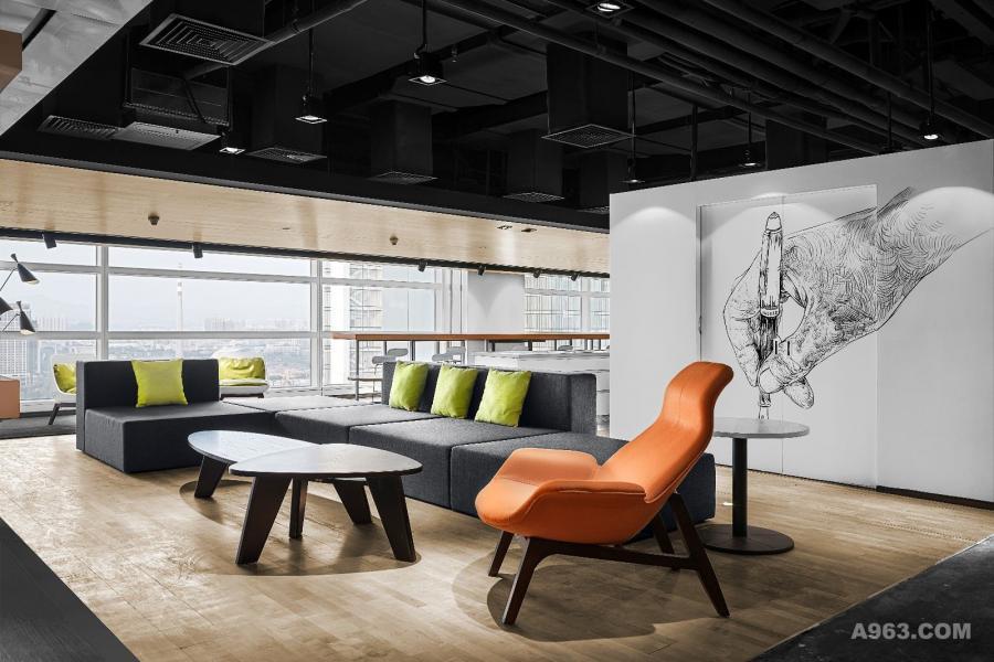 广州·保利(横琴)创新产业投资管理有限公司办公室休息区