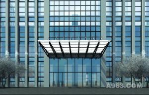 | 徽商银行总部设计竞赛方案——用参数化设计手法表达中国传统文化的内涵