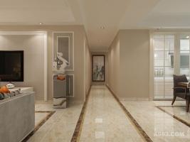实创装饰丨汇君城140㎡三居室现代简约风格装修