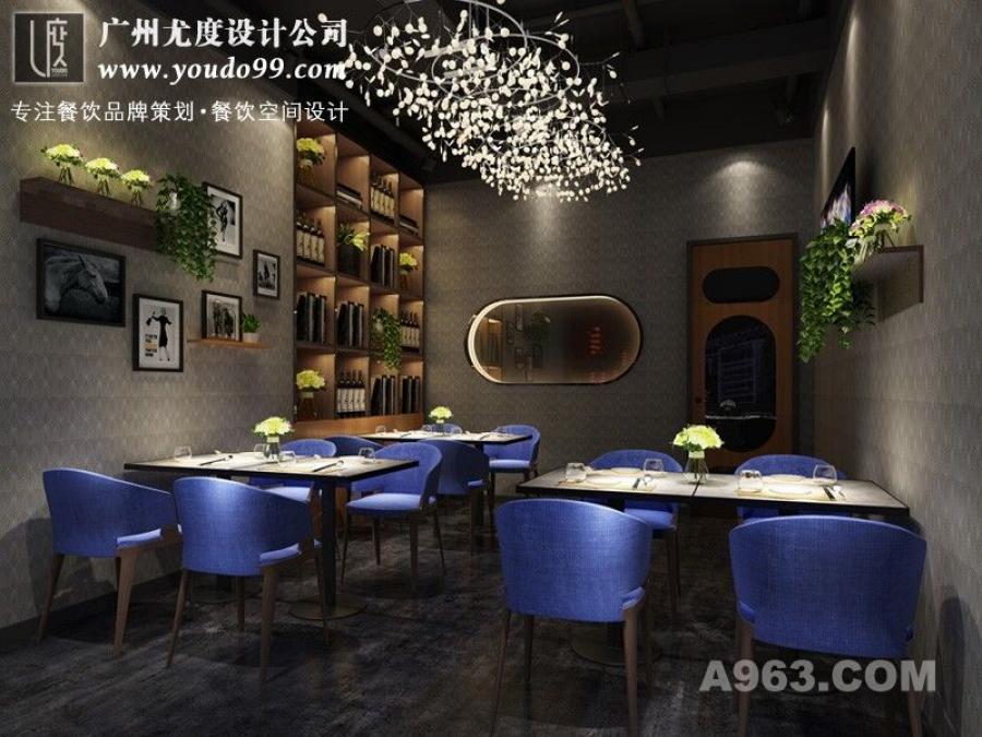 西餐厅空间设计