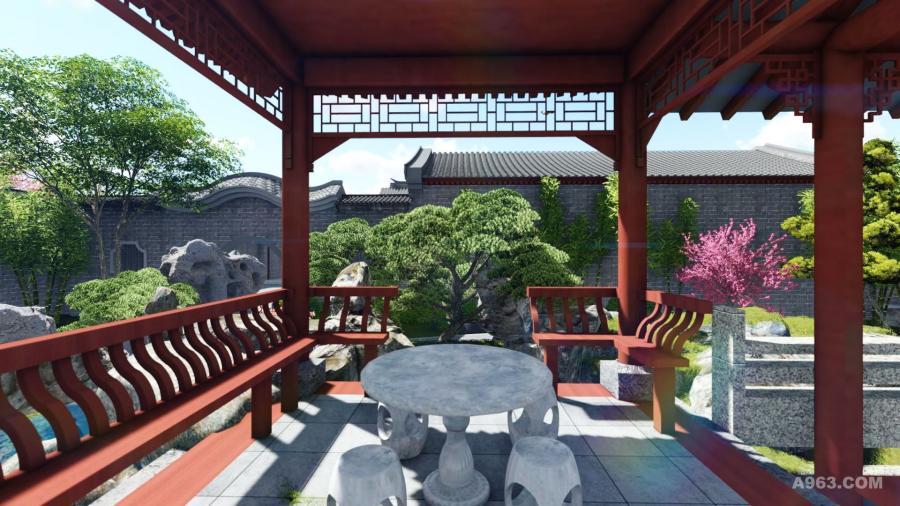 杨家大院,中式庭院,世间最雅致的院子
