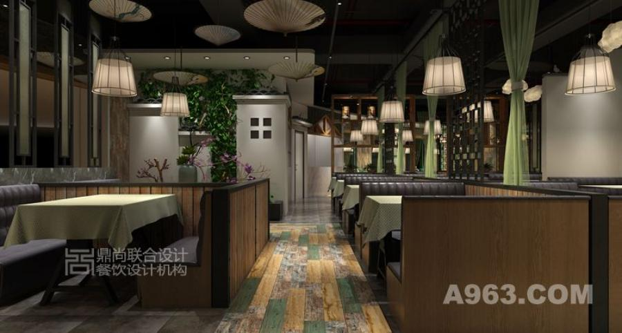 深圳西湖小馆餐厅装饰设计