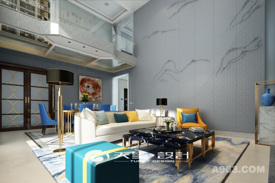 优雅 家具采用柔和的线条,体现空间的优雅、大方。