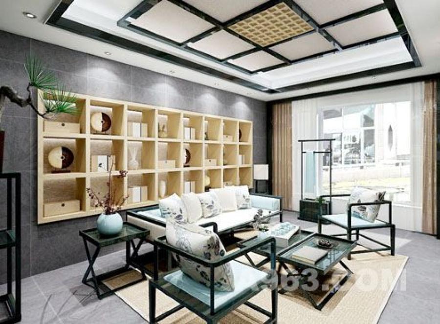 装修布局充满中国传统建筑的美感,室内意境清幽,古韵悠然,具有浓浓的中式韵味。