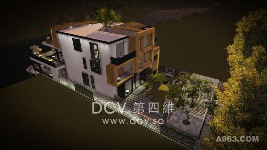 西安让你心旷神怡的民宿酒店设计-《南山里》