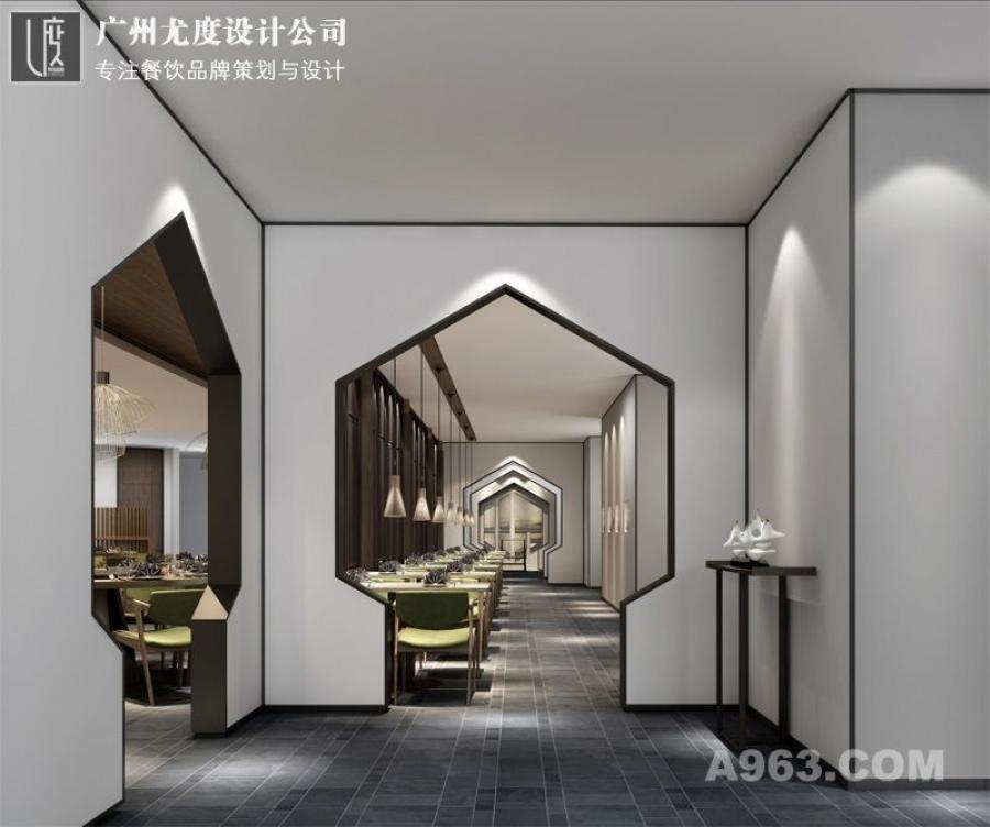 日式餐厅设计效果图