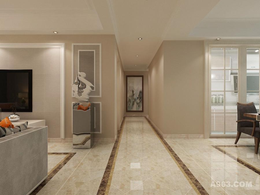 实创装饰丨汇君城140㎡三居室现代简约风格装修  请输入作品名