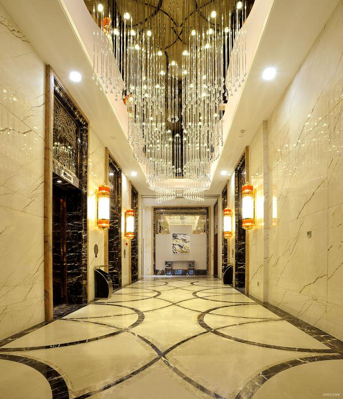 电梯厅实景照片