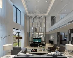 大华西郊700平米独栋别墅装修效果图-上海尚层装饰设计作品