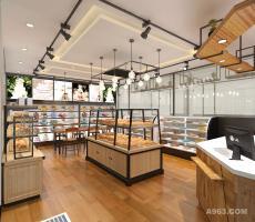 史铁炎作品——蛋糕连锁店设计