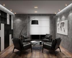 山西-性冷淡办公室设计-沐林设计