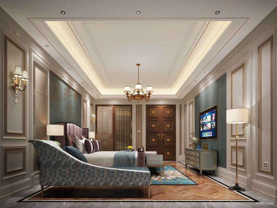 二层主卧室