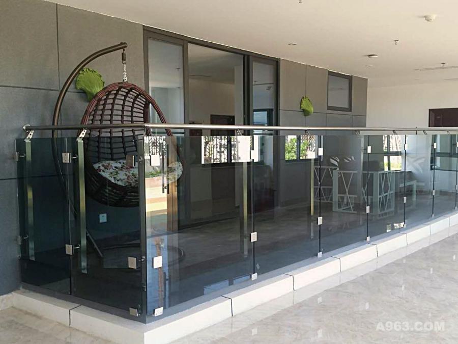 阳台展示区